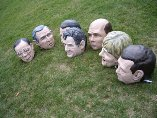 G8 Big Heads on a field of grass