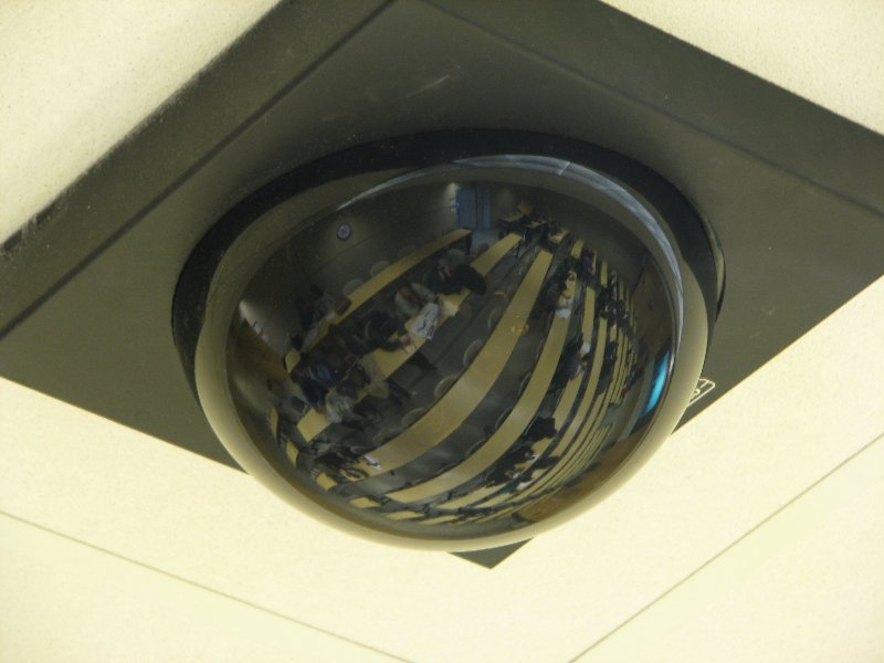 ceiling mounted survellance camera