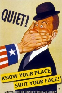 WWII war propaganda - quiet