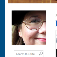 This is my Gravatar on my Author blog, but I also use it anywhere anywhere I need an avatar image.